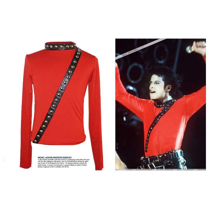 Michael Jackson 'BAD' Japan Tour Hautenge Jacke