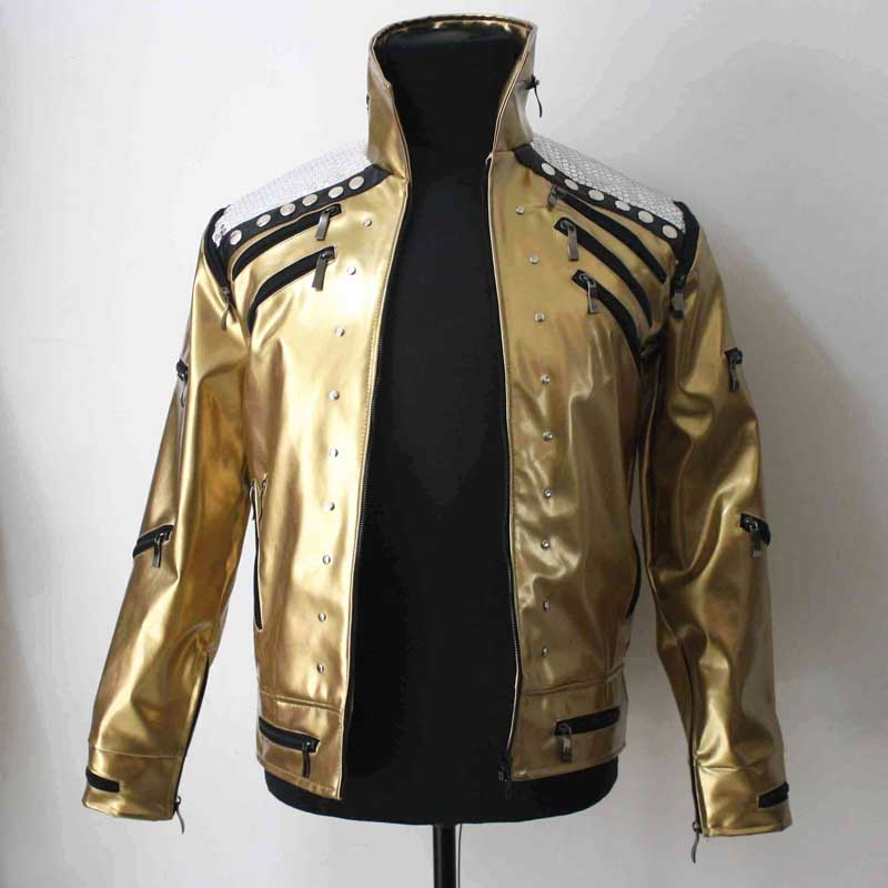 Michael Jackson Beat it golden Jacke