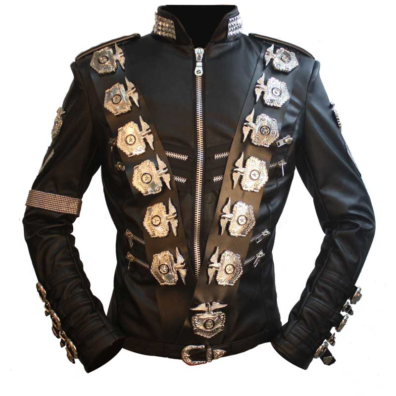Michael Jackson BAD Tour Japan Live Leder Jacke