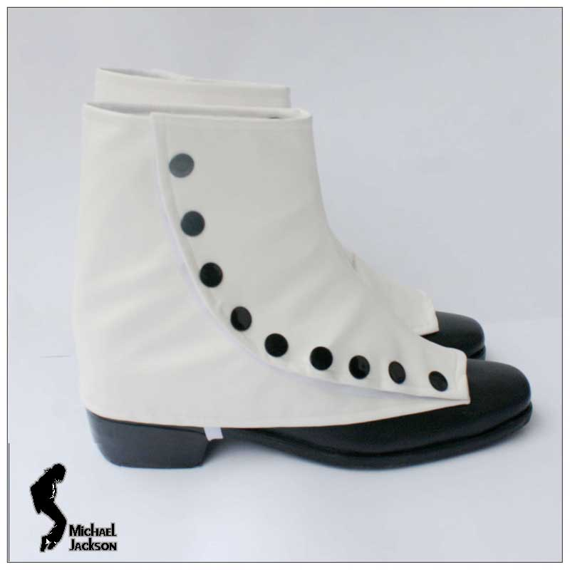 Michael Jackson Smooth Criminal weiss Shoe Cover