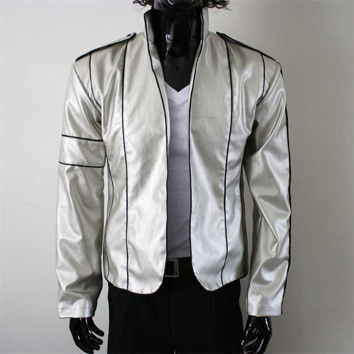 Michael Jackson 'Heal the world' silbrig Jacke