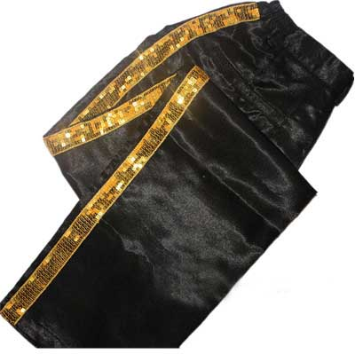 Michael Jackson Billie Jean Hose golden Streifen