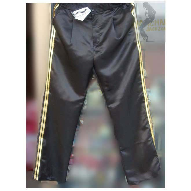Michael Jackson Billie Jean Hose double golden Streifen